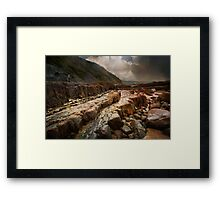 Bideford Rocks Framed Print