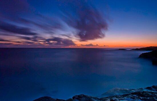 Last Light, Boat Harbour Sunset by bazcelt