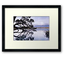 The Sky is Falling - Mossy Point, NSW Framed Print