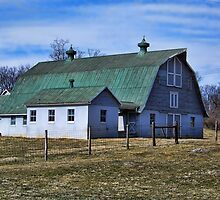 Barn In Boonesboro by James Brotherton