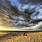 Sunbathing Under the Storm Clouds by Jill Fisher