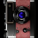 Vintage rangefinder camera iPhone case #2 by Steve Crompton