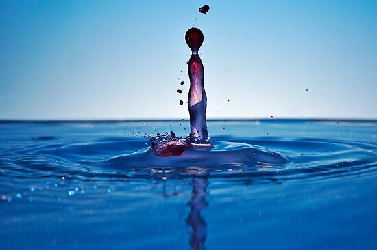 Splashing Water Droplet by Sami Sarkis