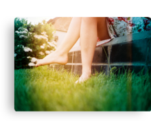 Lomo - Chit chat Canvas Print