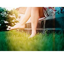 Lomo - Chit chat Photographic Print