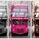 London Routemaster Triptych by The Creative Minds