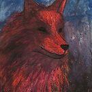 Night Fox by Brandon  Dover