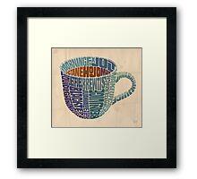 Cup o' Joe Framed Print