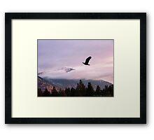 On Wings of Eagles Framed Print