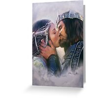 Arwen and Aragorn Greeting Card