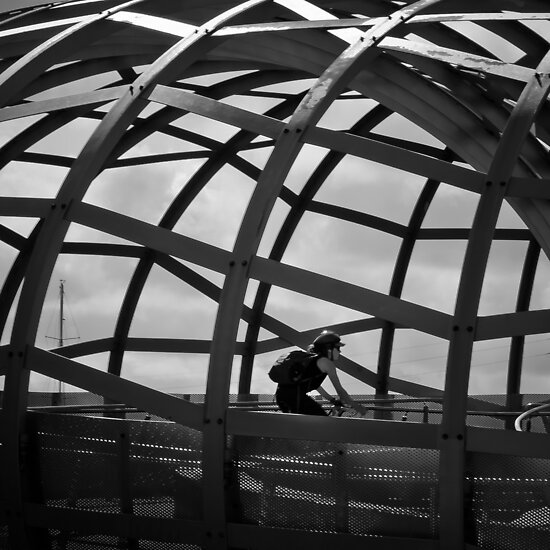 Caged Peddler by Rhoufi
