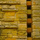 Clock Tower Wall by DebbyTownsend