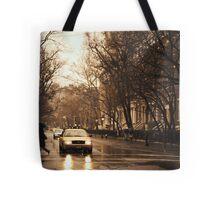 Rain - Greenwich Village - New York City Tote Bag