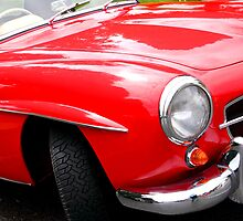 Mercedes Benz 190 SL 1958 by Carole-Anne