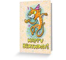 Party Animal - Happy Birthday Greeting Card