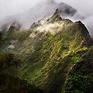 Misty Ko'olau Mountains by Alex Preiss