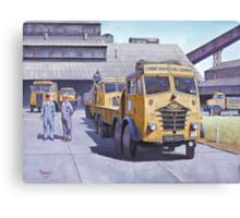 Blue Circle Foden S18  Canvas Print