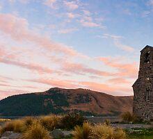 Church of the Good Shepherd Sunrise Panorama by Martin Canning
