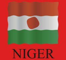 Niger flag by stuwdamdorp