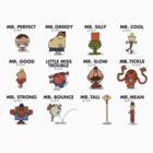 Street Fighter Mr Men ALL by matthumphrey