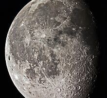 Gibbous Moon by CRHammond