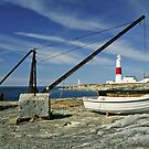 Portland Bill fishing boats by StephenRB