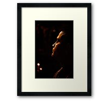 In Awe Framed Print