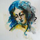 """""""Woman's head"""" by Tatjana Larina"""