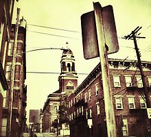 Old Church - Downtown Cincinnati by Alex Baker