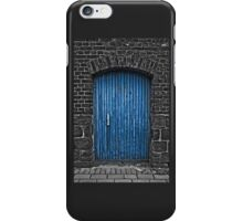 The Blue Door iPhone Case/Skin