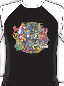 Penguin Mansion - Circle of Characters T-Shirt