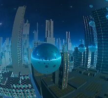 World in a Bubble by AlienVisitor
