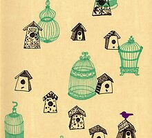 Bird Houses by JoJoCSZ