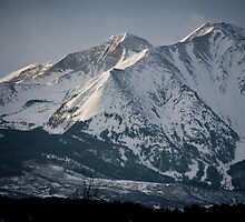 Snow Capped Sopris by phil decocco