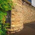 Prison Wall - Beechworth by Hans Kawitzki