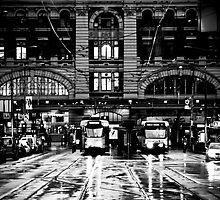 Elizabeth St Melbourne by Andrew Wilson