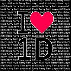 I <3 one direction iphone case! by shoutitout
