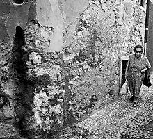 Old Lady in Malcesine by JPassmore