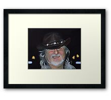 Self Portrait (my personal Dorian Grey) Framed Print