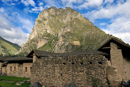 Ollantaytambo ruins  - Sacred Valle  - Cuzco by jorginho