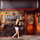 Barber - Barbershop - Time for a haircut by Mike  Savad