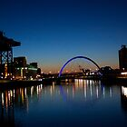 The Clyde Arc at dawn by Glaspark