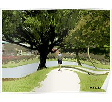 Nature-long walk Poster