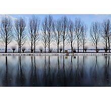 Mirror of ice Photographic Print