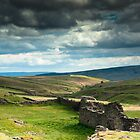 Ruined Smeltmill - Grassington Moor by James Elkington