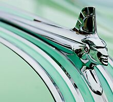 1951 Pontiac Streamliner Hood Ornament by Jill Reger