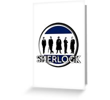 Sherlock cast Greeting Card