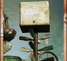 Pepsi Bottle Tree on Route 66 by Glenn McCarthy