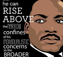 Inspirational Quote: Martin Luther King Jr. by salingjj