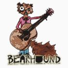 Squirrel Playing Guitar by Bearhound